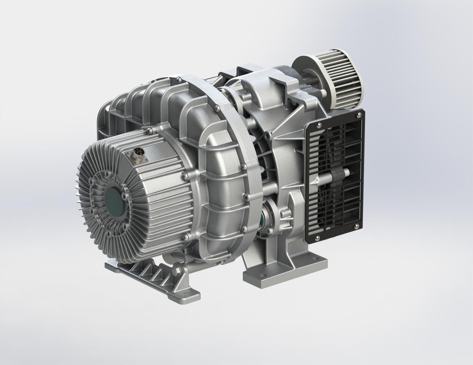 400L电机一体主机